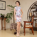 Shanghai Story 6 Style Sexy Gorgeous Cotton Chinese Vintage Silm Women Cheongsams Delicate Handmade Qipao Unique Party Dresses