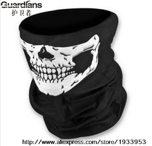Multi Function Skull Face Tube Mask Neck Warmer for Outdoor Riding Cycling Motorcycle Bike Ski Helmet Wind Veil Snowboard