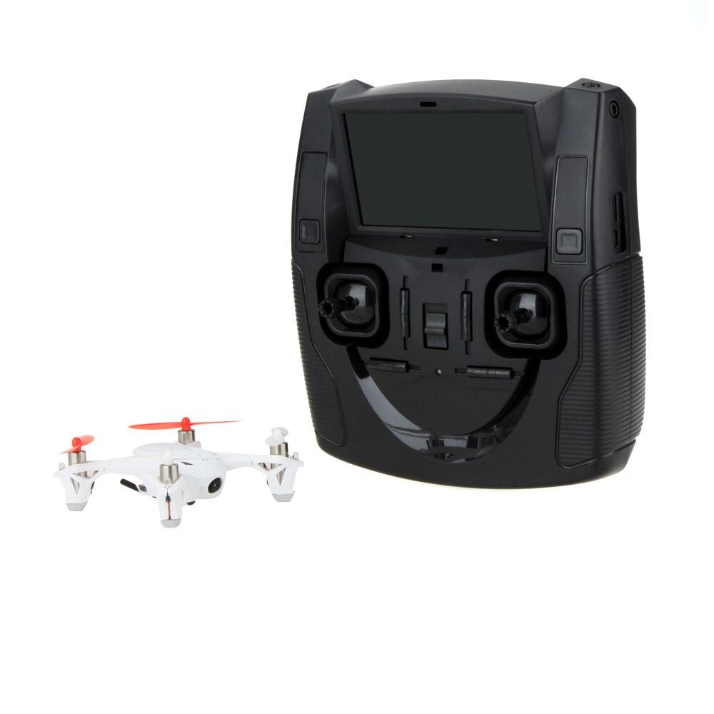X4 H107D RC Mini FPV quadrirotor 5.8G RTF Drone système 6 axes avec émetteur LCD caméra