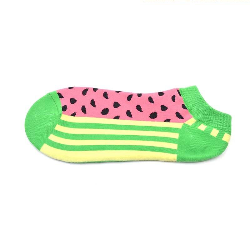 Fashion trend Fruit omelet sushi Happy Socks Women Men Funny Socks Woman Cotton Hip Hop Art Street Crew Harajuku Short Socks in Sock Slippers from Underwear Sleepwears