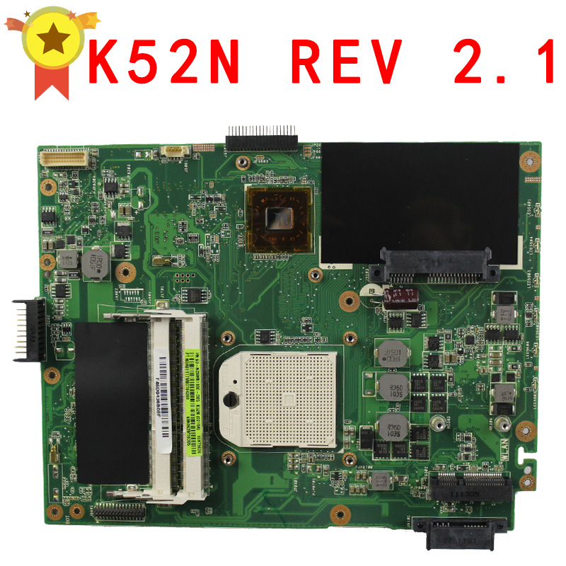 цены на Motherboard For Asus K52N notebook Mainboard free shipping