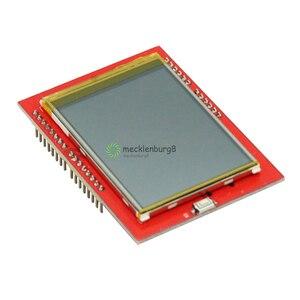 Image 2 - 2.4 polegada tft lcd tela de toque escudo para arduino uno r3 mega2560 módulo lcd 18 bit 262000 diferentes tons placa exibição