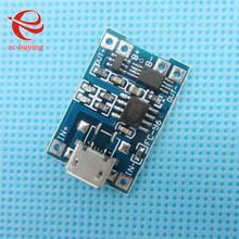 5pcs/lot Micro USB 5V 1A 18650 TP4056 Lithium Battery Charger Module Charging Board With Protection Dual Functions(China (Mainland))