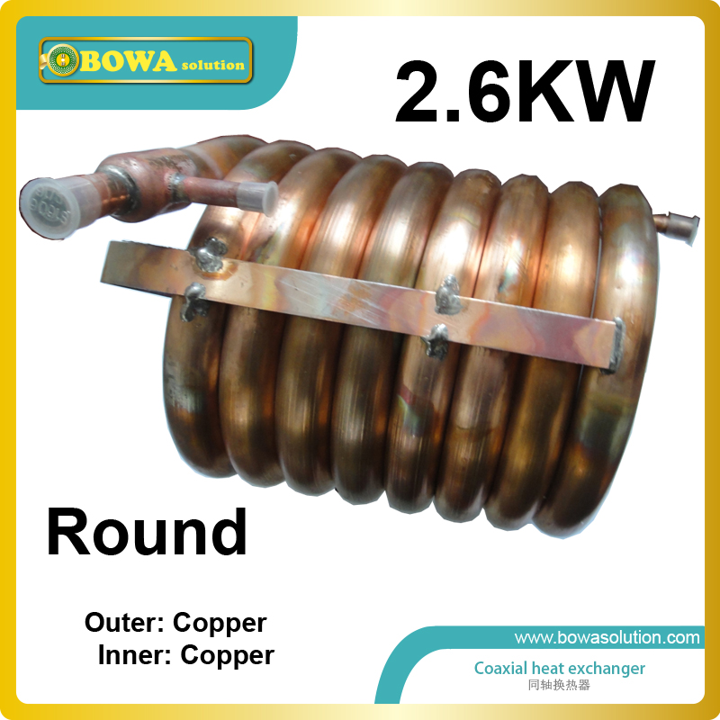 2.6KW outer and inner copper tubes Coaxial heat exchanger coils has high stability and long service life rakesh kumar tiwari and rajendra prasad ojha conformation and stability of mixed dna triplex