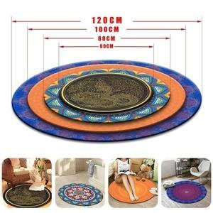 Image 5 - Pokemon Go Ball Circle Velboa Round Area Rug And Carpet for Home Living Room Memory Foam Bedroom Cushion Bathroom Floor Door Mat