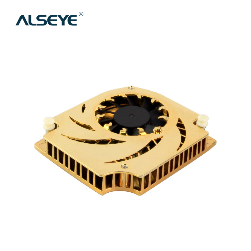 ALSEYE VGA Cooler Clearance Aluminum Heatsink Graphics Card Fan DC 12V 2pin 6000RPM Cooling Fan for FX1000 FX5600 75mm pld08010s12hh graphics video card cooling fan 12v 0 35a twin for frozr ii 2 msi r6790 n560gtx r6850 n460gtx dual cooler fan