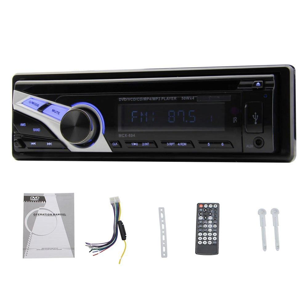 single din car dvd player 12v car fm radio 1 din in dash. Black Bedroom Furniture Sets. Home Design Ideas