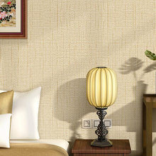 Simple Luxury Modern Solid Wallpaper For Walls Bedroom Living Room Sofa TV Background Yellow Beige Wall paper Rolls 6 Colors(China)