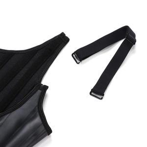 Image 4 - Lover Beauty 100% Latex Waist Trainer Vest 25 Steel Bones Corset Waist Cincher Body Shaper Shapewear Fajas 6XL