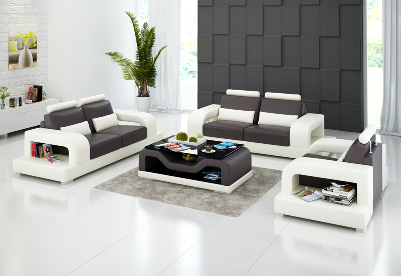 Cool Us 1388 0 0413 G8007D Luxury Italian Leather Sofa With Chaise Lounge For White Living Room Sofa Set In Living Room Sets From Furniture On Pdpeps Interior Chair Design Pdpepsorg