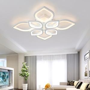 Image 4 - Acrylic Flush LED Ceiling Lights White Light Frame Home Decorative Lighting Fixtures Oval LED Lustre Lamp for Living Room