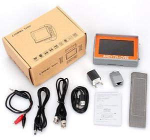 Image 3 - 4.3 Inch 4 In 1 HD CCTV Tester Monitor AHD CVI TVI CVBS Analog Cameras Tester 5MP 4MP 1080P  720P UTP Audio 12V