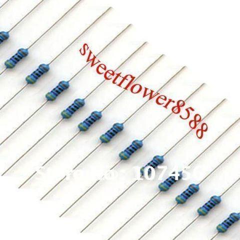 Frete Grátis Resistores 1.5 Ohms 1 – 4 w 1% Metal Filme Resistor 1000 Pçs