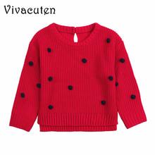2018 nowa odzież dla niemowląt niemowlę chłopcy dziewczęta cukierki kolor sweter z dzianiny noworodek wiosna jesień bawełna odzież wierzchnia pulowerowe topy tanie tanio Vivacuten Na co dzień NYLON Poliester Z wełny COTTON Pełna REGULAR O-neck Unisex Dla dzieci Pasuje prawda na wymiar weź swój normalny rozmiar