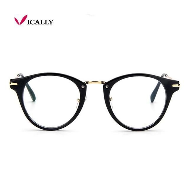 c1df7e6f96 Transparent Glasses Frame Women Men Prescription Spectacles Clear lens  Fashion Eyeglasses Frames Eyewear Plain Optical Lenses