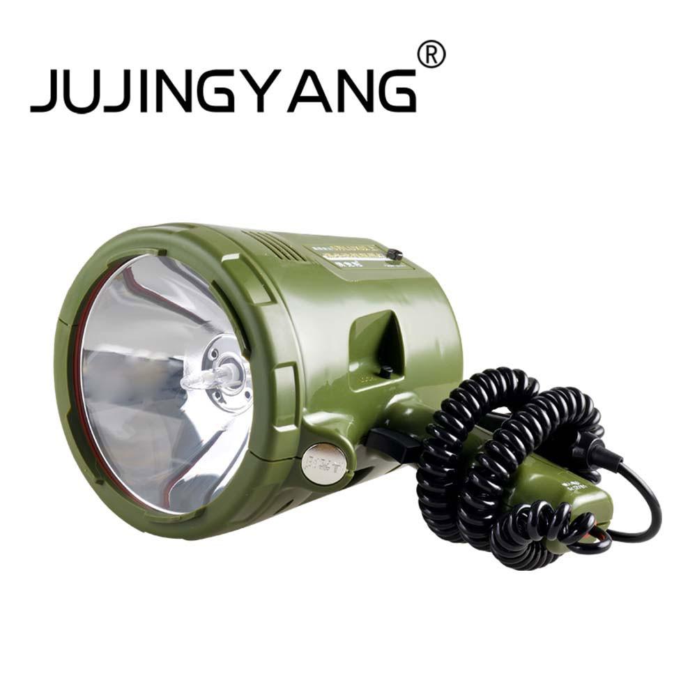 Super Bright 12v 220w Hid H3 Xenon Portable Spotlight For Hunting 100w Lampu Led Sorot 12 V Tangan Cahaya 35 W 55 65 75
