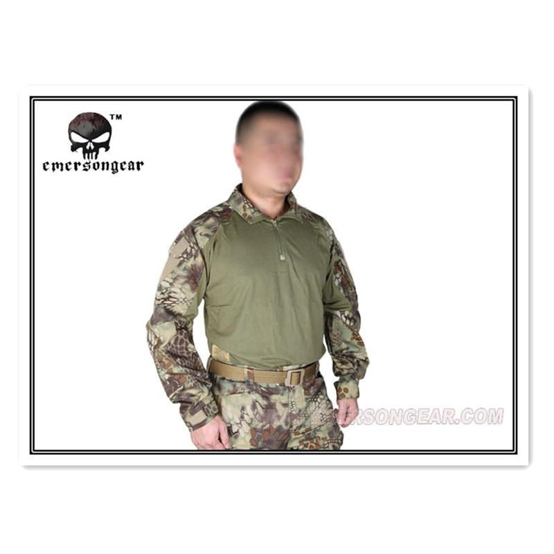 Kryptek Mandrake Emerson тактическая G3 страйкбола рубашка Emerson Униформа военная армия США BDU EM8593 MR