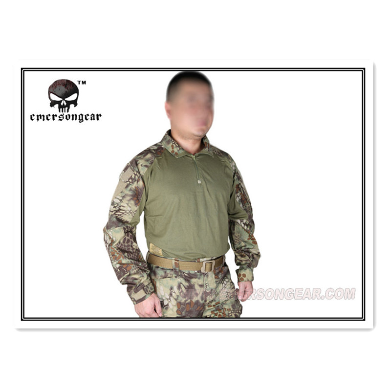 Kryptek Mandrake Emerson Tactical G3 airsoft shirt Emerson uniform Military US Army BDU EM8593 MR combat army uniform emerson bdu tactical shirt