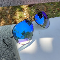 Top Quality Metal Frame Sunglasses Luxury Brand Women Men Design Sun Glasses Fashion Round Glasses