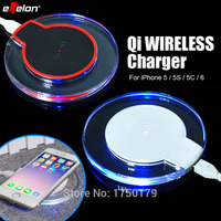 For IPhone6 Universal Qi Wireless Charger Charging Pad For APPLE IPhone 5 5S 5C 6 Cargador