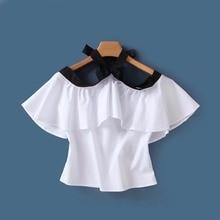 Fashion new straple lotus leaf tie jacket
