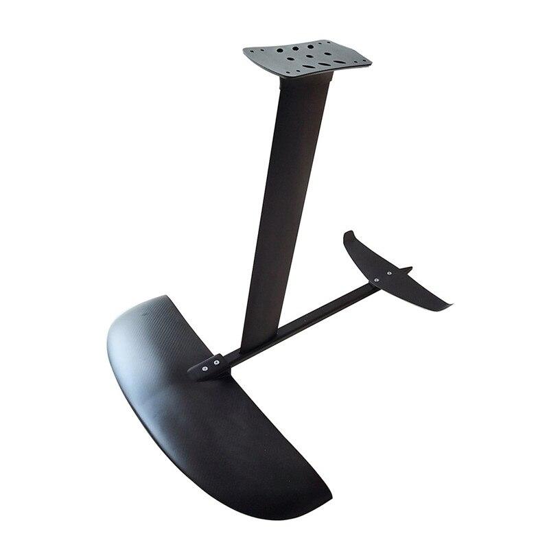 En Aluminium hydroptère pour sup planche de Surf hydroptère feuille Surf AD-H5 Ailes de L'eau pour sup Hydroptère Poussée Surf Feuille