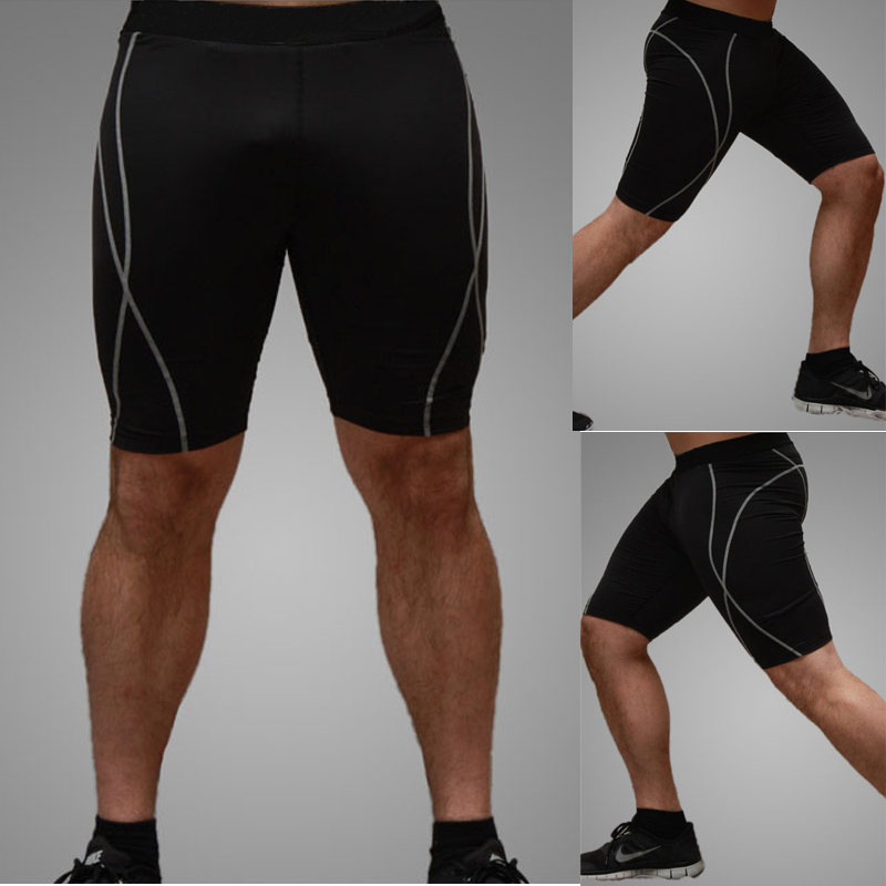 NEW Men Training Running Tight Sport Shorts Fitness Gym Base Layer Short Pants