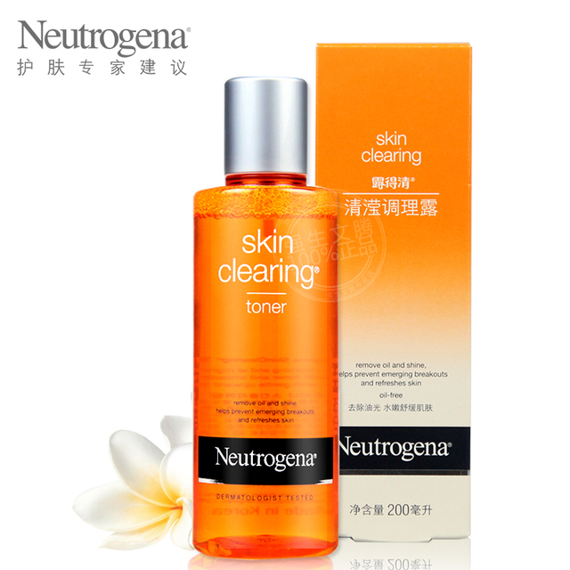 US $38 37 |Neutrogena toner, Ying air Lu 200 ml asam salisilat air AC /  toner, Kontrol jerawat minyak jerawat India di Toner dari Kecantikan &