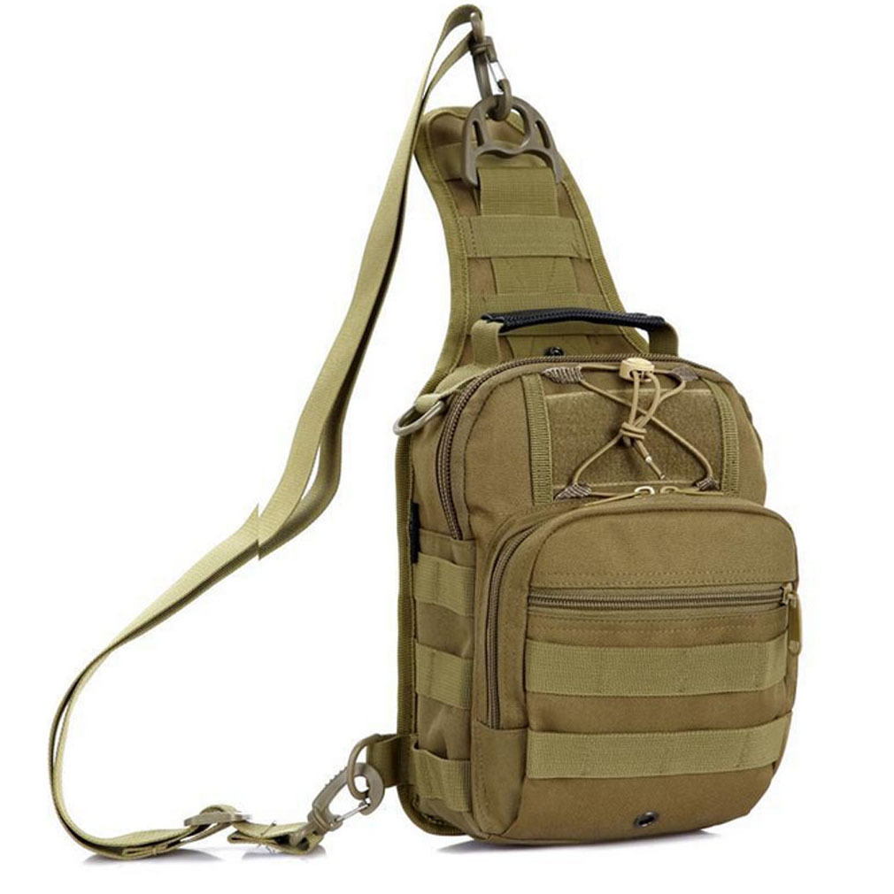 Camping & Hiking Unisex Nylon Crossbody Bags Military Travel Riding Cross Body Shoulder Backpack Men Messenger Pack Chest Bag Outdoor Bags 2018 Climbing Bags