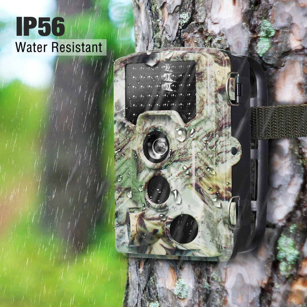 H881 Hunting Camera Wide Angle Hd Wildlife Trail Camera Trap Motion Activated For Wildlife Home Security Outdoor Hunter Camera surveillance camera hunting mms gsm gprs camera 12mp 1080p motion detector for animal trap forest outdoor hunter camera