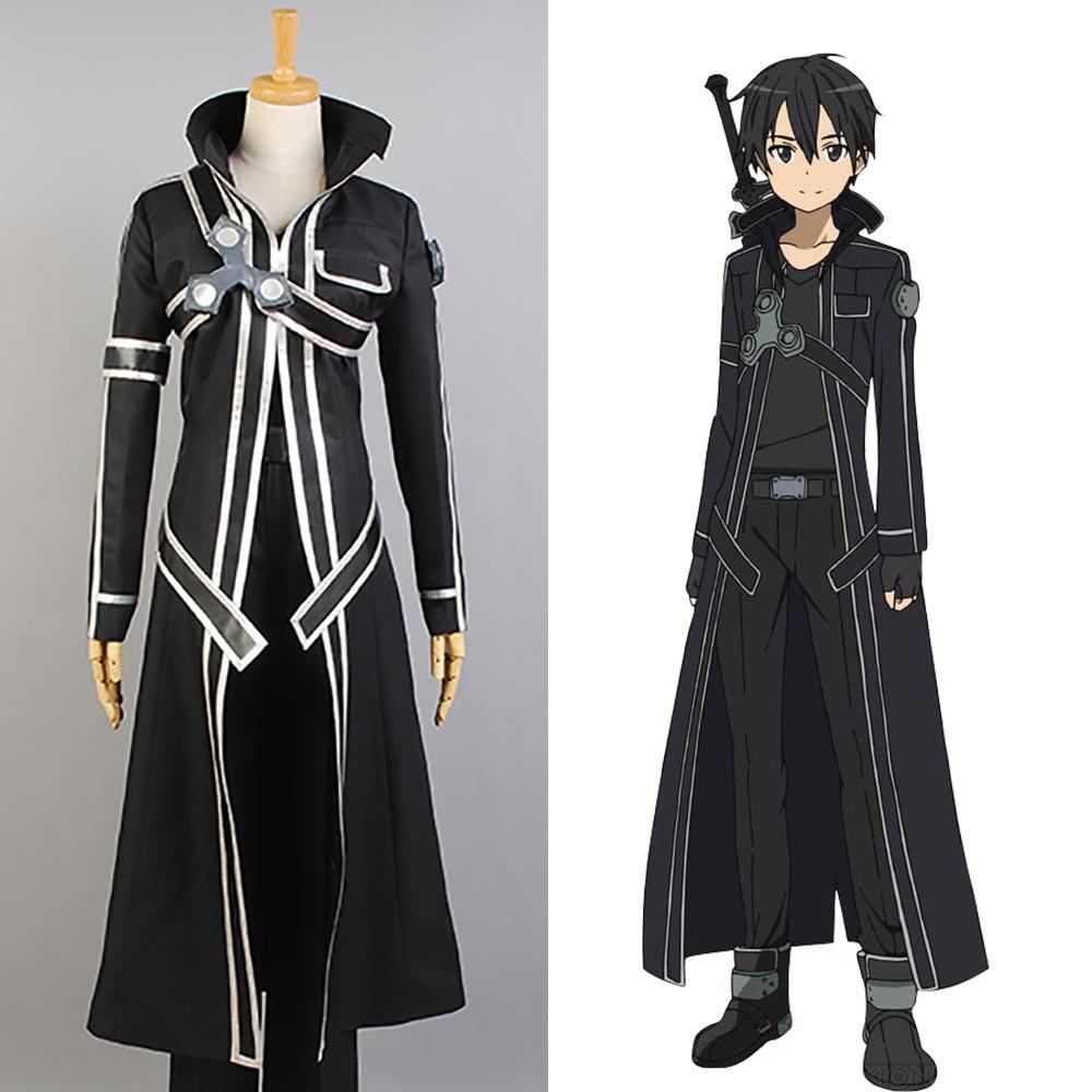 sword art online sao costume kazuto kirigaya kirito