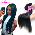 Peruvian Virgin Hair Straight 4 Bundles Deals Rosa Hair Products 7A Virgin Human Hair Peruvian Straight Virgin Hair Bundles