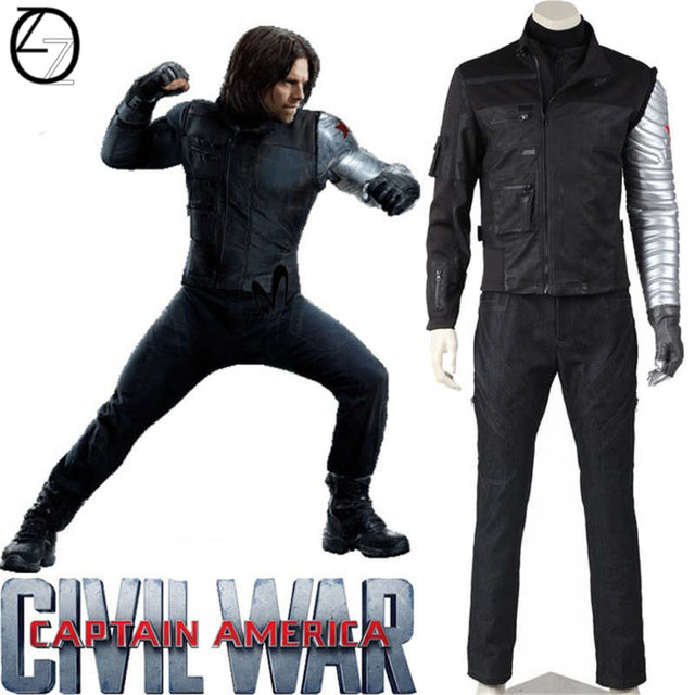 Marvel S Captain America Civil War Winter Soldier Costume
