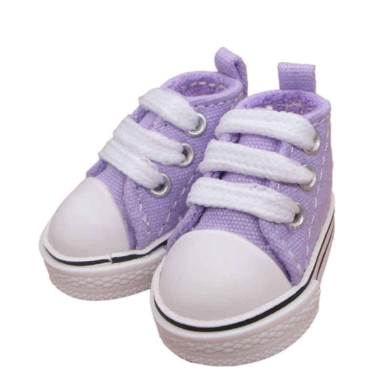 Tilda 5cm sapatas de lona 1/6 bjd sapatos para bonecas de pelúcia, original 5cm sapatos para 20cm boneca, russa boneca acessórios 5 par/lote