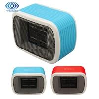 220V 500W Mini PTC Ceramic Space Electric Heaters Desktop Fan Heater For Warm Winter 2 Color