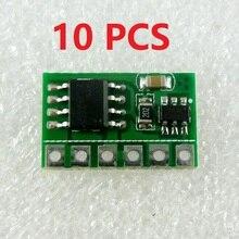 10x 6A 3 v 3.3 v 3.7 v 4.5 v 5 v 6 v DC אלקטרוני מתג מודול Flip  כישלון תפס Bistable עצמי נעילת טריגר לוח עבור פנל סולארי
