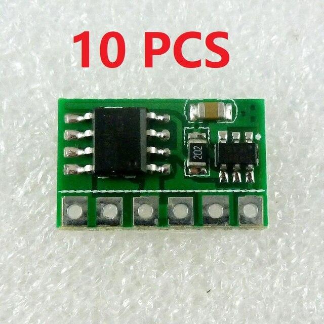 10x 6A 3V 3.3V 3.7V 4.5V 5V 6V DC electronic switch Module Flip Flop Latch Bistable Self locking Trigger Board for solar panel