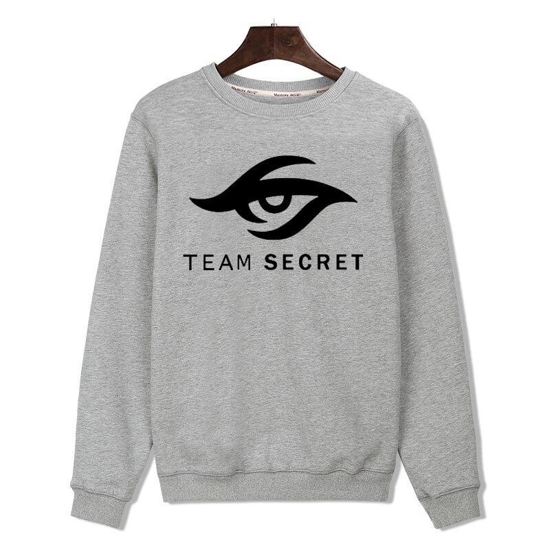 2018 Aikooki Team Geheimnis In Dota2 Hoodies Männer/frauen Schwarz Baumwolle Harajuku Sweatshirt Männer/frauen Team Geheimnis Hoodies Kleidung