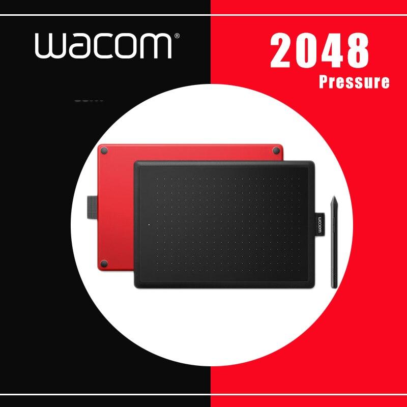 One by Wacom CTL-472 Tableta digital Tabletas gráficas Tableta para dibujar niveles de presión de 2048 + paquetes de regalo gratuitos