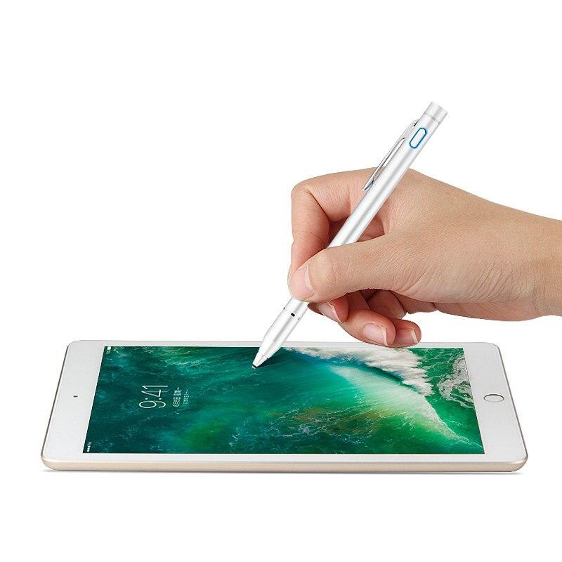 Haute précision Active Stylet Stylo Écran Tactile Pour iPad 9.7 pouce Nouveau 2017 Air 2 1 ipad Air2 5 6 Tablet Capacitif Crayon Cas stylo