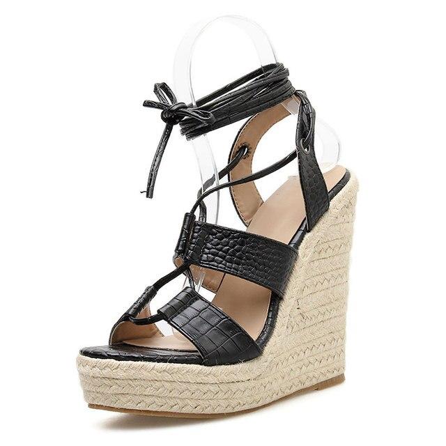 Cross Ankle Straps Roman Sandal 3