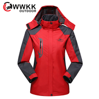 Women Outdoor Jackets Winter Coat Clothes Waterproof Hiking Jackets Sports Brand Clothing Camping Hiking Female Jacket 2019