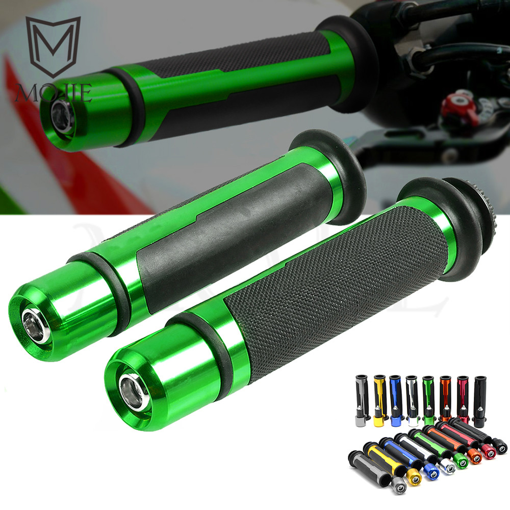 Universal Motorcycle Handlebar Hand Handle Grips Hand Bar Ends For Kawasaki ZX-14R ZX-10R ZX6R ZX12R Z750 Z1000 Z900 Z800 Z900RS