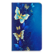 Flip PU Leather Case Cover for Samsung Galaxy Tab A 10.1 A6 SM-T580 T585 T580N T585N Cute Butterfly Panda Owl Tablet Stand Cases