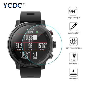 Uniwersalne szkło hartowane na okrągły zegarek folia ochronna na inteligentną osłona na szybkę zegarka o średnicy 27mm 30mm 32mm 34mm 36-46mm tanie i dobre opinie YCDC Ochraniacz ekranu Wszystko kompatybilny Angielski Dla dorosłych EN4582 Tempered glass 0 3mm 2 5D HD 99 9 About 23~46mm
