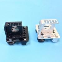 V Slot Aluminum Profiles Frame 3D Printer Titan Aero Extruder Adaptor X axis Slider Belt Buckle F/ Creality CR 10 CR10s Ender3