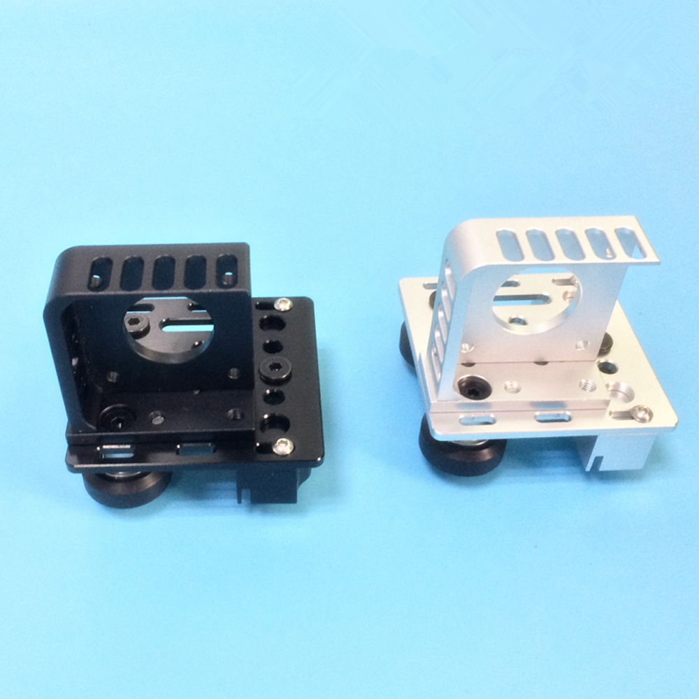 V Slot Aluminum Profiles Frame 3D Printer Titan Aero Extruder Adaptor   X axis Slider Belt Buckle F/ Creality CR 10 CR10s Ender3|3D Printer Parts & Accessories| |  - title=