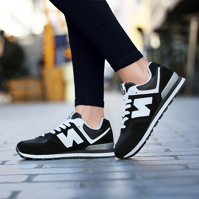 Women Casual Shoes Spring/Autumn Outdoor Mesh Platform Sneakers Breathable Lace-Up Flat Footwear Zapatos De Mujer Tenis Feminino smile circle spring autumn women shoes casual sneakers for women fashion lace up flat platform shoes thick bottom sneakers