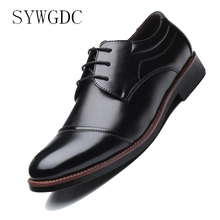 SYWGDC Luxury Brand Classic Man Pointed Toe Dress Shoes Mens Patent Leather Black Wedding Shoes Oxford Formal Shoes Size 38-48 luxury brand classic man pointed toe dress shoes mens patent leather black wedding shoes oxford formal shoes big size fashion