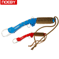 NOEBY 28cm/166g Fishing Lip Grip Gripper Fish Grabber Weave Handle Tackle Tool Accessories Fishing Equipment